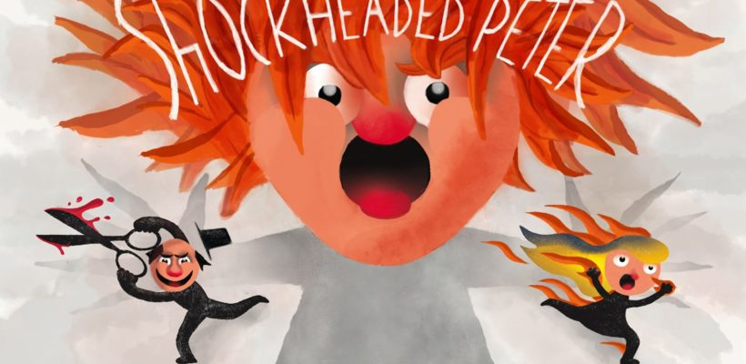 Shockheaded Peter illustrasjon av Ketil Christensen
